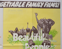 ALL CREATURES GREAT AND SMALL / BEAUTIFUL PEOPLE (Top Right) Cinema Quad Movie Poster