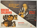 MACHO CALLAHAN / RIDER ON THE RAIN Cinema Quad Movie Poster