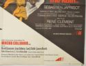 MACHO CALLAHAN / RIDER ON THE RAIN (Bottom Right) Cinema Quad Movie Poster