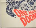 ONE HOUR TO DOOMSDAY (Bottom Left) Cinema Quad Movie Poster