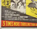 TARZAN'S THREE CHALLENGES (Bottom Left) Cinema Quad Movie Poster