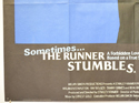 THE RUNNER STUMBLES (Bottom Left) Cinema Quad Movie Poster
