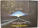 CLOSE ENCOUNTERS OF THE THIRD KIND Cinema Quad Movie Poster