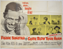 COME BLOW YOUR HORN Cinema Quad Movie Poster