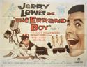 THE ERRAND BOY Cinema Quad Movie Poster