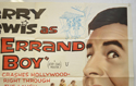 THE ERRAND BOY (Top Right) Cinema Quad Movie Poster