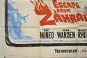 ESCAPE FROM ZAHRAIN (Bottom Left) Cinema Quad Movie Poster