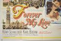 FOREVER MY LOVE (Bottom Left) Cinema Quad Movie Poster