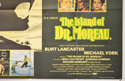 THE ISLAND OF DR. MOREAU (Bottom Right) Cinema Quad Movie Poster