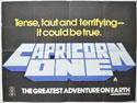 CAPRICORN ONE Cinema Quad Movie Poster