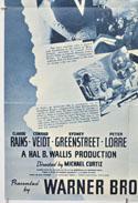 CASABLANCA (Bottom Left) Cinema One Sheet Movie Poster