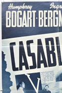 CASABLANCA (Top Left) Cinema One Sheet Movie Poster