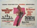 THE MAGNIFICENT SEVEN / RETURN OF THE SEVEN Cinema Quad Movie Poster