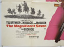 THE MAGNIFICENT SEVEN / RETURN OF THE SEVEN (Bottom Left) Cinema Quad Movie Poster