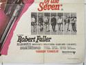 THE MAGNIFICENT SEVEN / RETURN OF THE SEVEN (Bottom Right) Cinema Quad Movie Poster