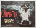 THE CARPENTER Cinema Quad Movie Poster
