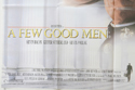 A FEW GOOD MEN (Bottom Left) Cinema Quad Movie Poster
