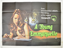 A YOUNG EMMANUELLE Cinema Quad Movie Poster