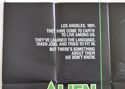 ALIEN NATION (Top Left) Cinema Quad Movie Poster