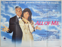 ALL OF ME Cinema Quad Movie Poster