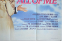 ALL OF ME (Bottom Right) Cinema Quad Movie Poster