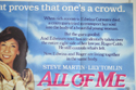 ALL OF ME (Top Right) Cinema Quad Movie Poster