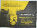 ALTERED STATES Cinema Quad Movie Poster