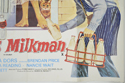 THE AMOROUS MILKMAN (Bottom Right) Cinema Quad Movie Poster