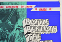 BATTLE BENEATH THE EARTH (Top Right) Cinema Quad Movie Poster