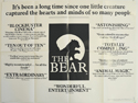Bear (The) <p><i> (Reviews Version) </i></p>