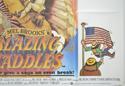 BLAZING SADDLES (Bottom Right) Cinema Quad Movie Poster