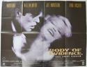 BODY OF EVIDENCE Cinema Quad Movie Poster