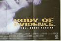 BODY OF EVIDENCE (Bottom Right) Cinema Quad Movie Poster