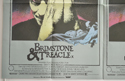 BRIMSTONE AND TREACLE (Bottom Left) Cinema Quad Movie Poster