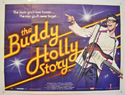 THE BUDDY HOLLY STORY Cinema Quad Movie Poster