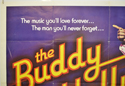 THE BUDDY HOLLY STORY (Top Left) Cinema Quad Movie Poster