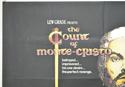 THE COUNT OF MONTE CRISTO (Top Left) Cinema Quad Movie Poster