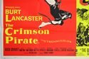 THE CRIMSON PIRATE / THE COMMAND (Bottom Left) Cinema Quad Movie Poster