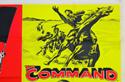 THE CRIMSON PIRATE / THE COMMAND (Top Right) Cinema Quad Movie Poster