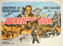 DEATH IN THE SUN Cinema Quad Movie Poster