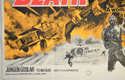 DEATH IN THE SUN (Bottom Left) Cinema Quad Movie Poster