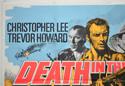 DEATH IN THE SUN (Top Left) Cinema Quad Movie Poster
