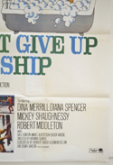 DON'T GIVE UP THE SHIP (Bottom Right) Cinema One Sheet Movie Poster