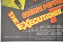 THE EXECUTIONER / A MAN CALLED SLEDGE (Bottom Left) Cinema Quad Movie Poster