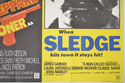 THE EXECUTIONER / A MAN CALLED SLEDGE (Bottom Right) Cinema Quad Movie Poster