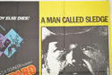 THE EXECUTIONER / A MAN CALLED SLEDGE (Top Right) Cinema Quad Movie Poster
