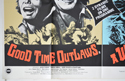 GOOD TIME OUTLAWS / A WHALE OF A TALE (Bottom Left) Cinema Quad Movie Poster