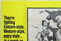 HERCULES AGAINST KUNG FU (Top Left) Cinema Quad Movie Poster