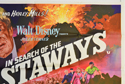 IN SEARCH OF THE CASTAWAYS (Top Right) Cinema Quad Movie Poster