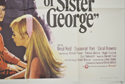 THE KILLING OF SISTER GEORGE (Bottom Right) Cinema Quad Movie Poster